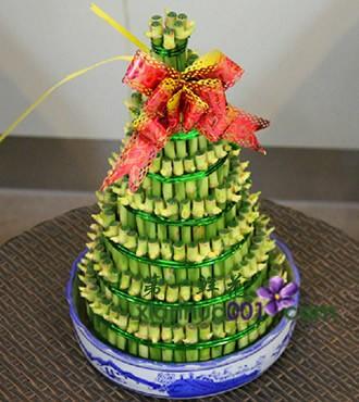 绿植:节节高盆栽办公桌植物