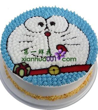 蛋糕:哆啦A梦的祝福