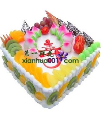 蛋糕:蟠桃贺寿