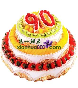 蛋糕:福寿安康