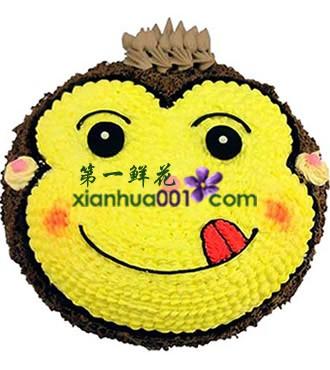蛋糕:嬉皮猴