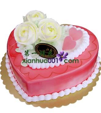 蛋糕:心里是你