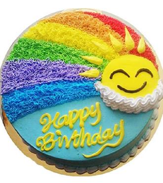 蛋糕:幸福阳光