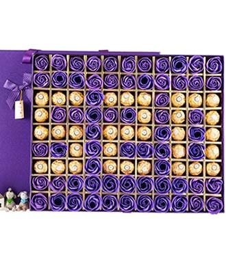香皂花520巧克力礼盒(快递)