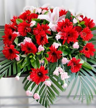 会议用花:讲台花