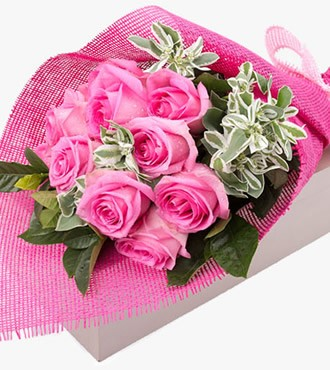 鲜花:今生最爱 11枝玫瑰 顺丰直送