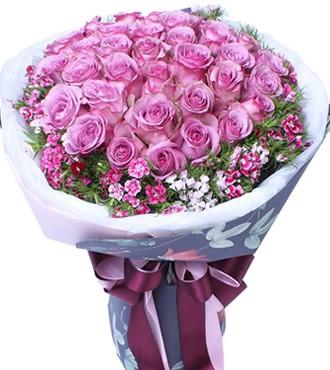 鲜花:我的爱只留给你 36枝