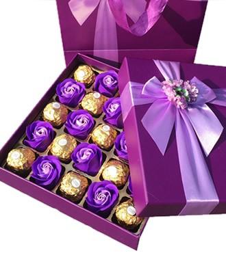 紫爱一生 香皂花+巧克力(快递)