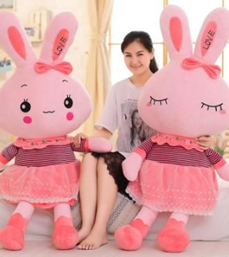 米菲兔长腿兔美人兔子害涩兔