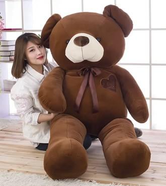 爱心熊泰迪熊毛绒玩具特大号熊