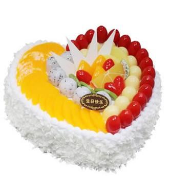 蛋糕:心的祝福
