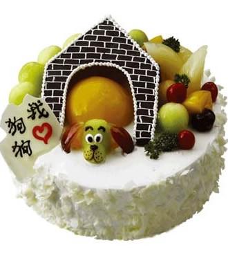 蛋糕:我爱狗狗