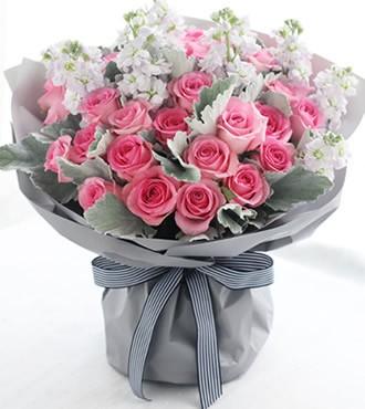 鲜花:幸福的约定 33枝苏醒