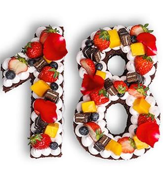 蛋糕:网红数字蛋糕