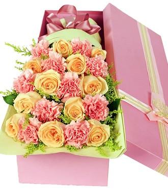 鲜花:真情传递 21枝玫瑰