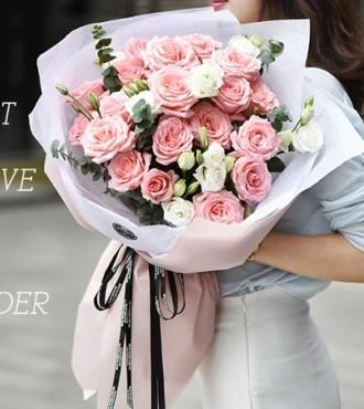 鲜花:岁月静好 19朵玫瑰