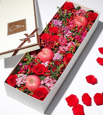 鲜花:圣诞节特供 9枝玫瑰