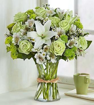 鲜花:热情的沙漠 19枝扶郎