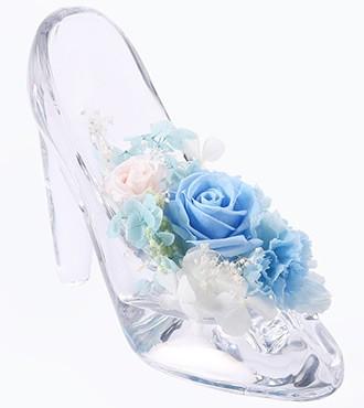保鲜花:公主的水晶鞋·蓝