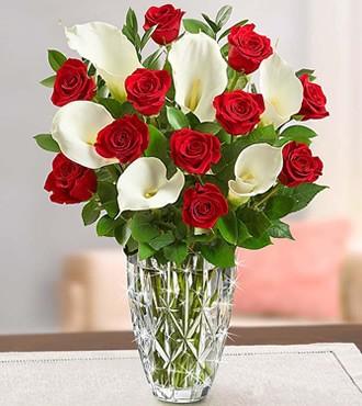 鲜花:深情相拥 11枝红玫瑰