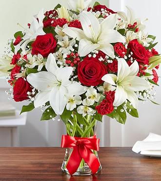 鲜花:冬天的阳光 21枝红玫瑰