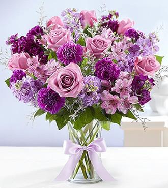 鲜花:特别的你 21枝洋桔梗