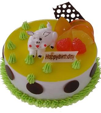 蛋糕:灿烂猪宝贝