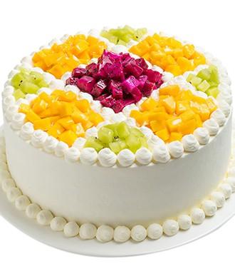 蛋糕:颐园飘香