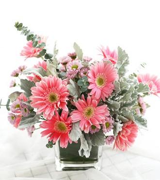 会议用花:商务桌花4