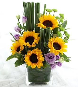 会议用花:商务桌花