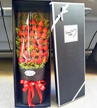 水果礼盒:浪漫之心