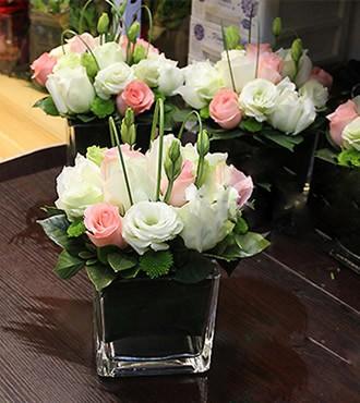 会议用花:心动桌花