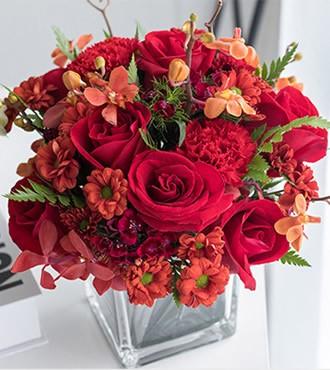 会议用花:魅音桌花