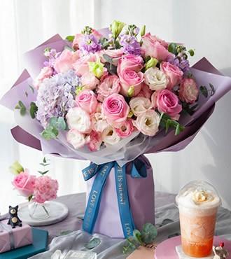 鲜花:情窦初开 11枝玫瑰