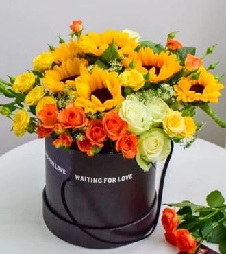 鲜花:今生共相伴 22枝混搭