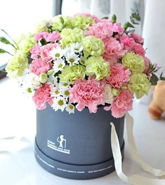 鲜花:情到深处 29枝康乃馨
