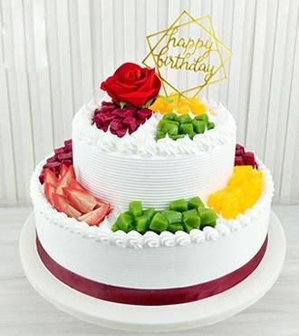 蛋糕:稳稳地幸福