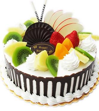 蛋糕:春意盎然
