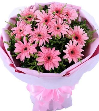 鲜花:一辈子的情份 11枝扶郎