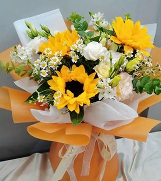 鲜花:最佳女主角 3枝向日葵