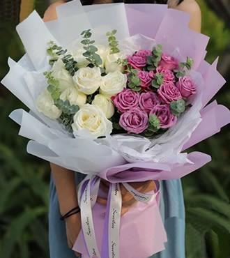 鲜花:只想和你在一起