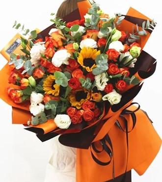 鲜花:今生挚爱 混搭花束