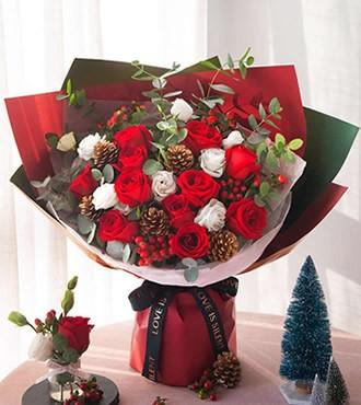 鲜花:如约而至 11枝红玫瑰