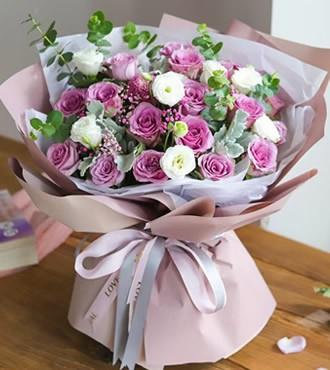 鲜花:双子座守护花