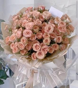 鲜花:我们约会吧 99枝玫瑰