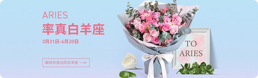 白羊座推荐鲜花,鲜花+蛋糕,白羊座鲜花礼品,白羊座预定,白羊座送花,预定鲜花,速递鲜花礼品,白羊座鲜花礼品