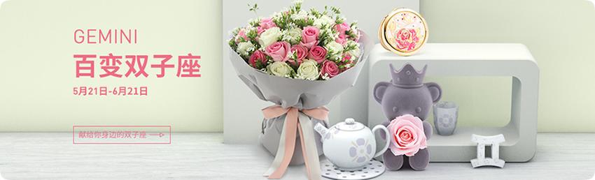 双子座推荐鲜花,鲜花+蛋糕,双子座鲜花礼品,双子座预定,双子座送花,预定鲜花,速递鲜花礼品,双子座鲜花礼品