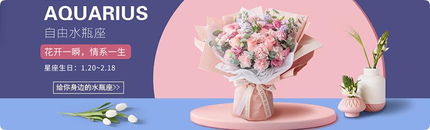 水瓶座推荐鲜花,鲜花+蛋糕,水瓶座鲜花礼品,水瓶座预定,水瓶座送花,预定鲜花,速递鲜花礼品,水瓶座鲜花礼品